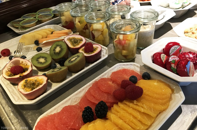The Ritz-Carlton Berlin Club Lounge frukt