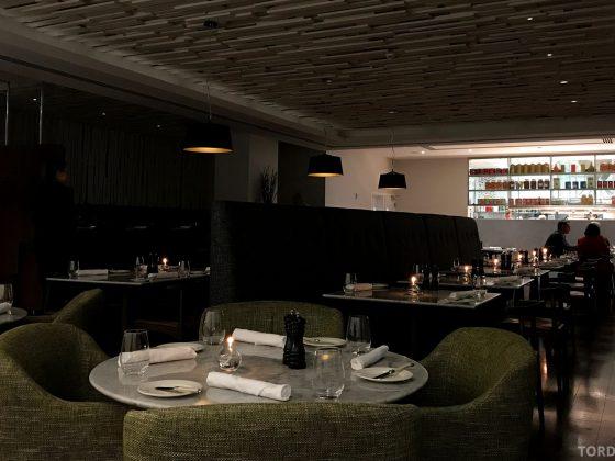 InterContinental Wellington Chameleon Restaurant sitteplass