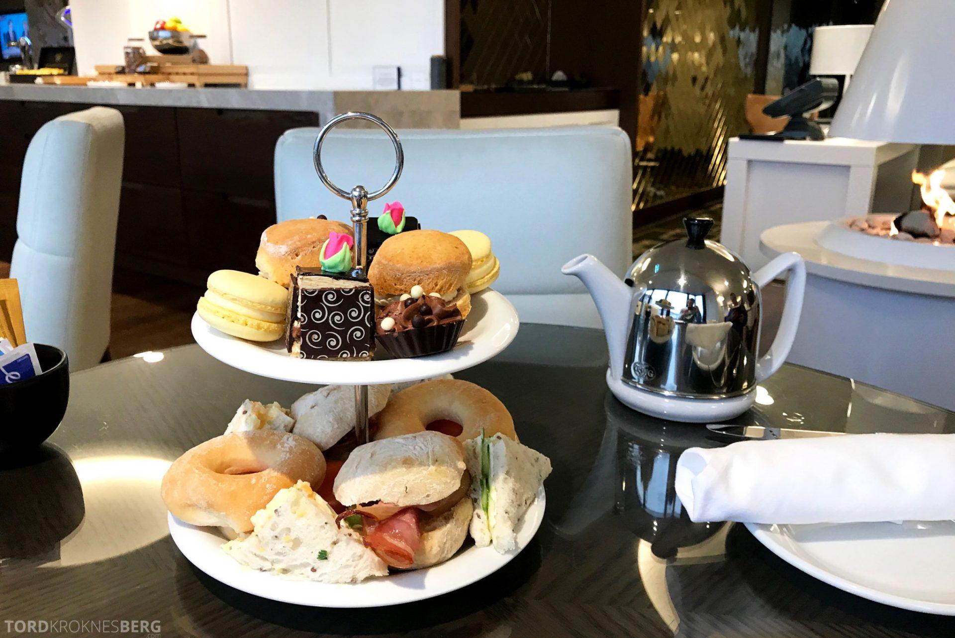 InterContinental Wellington Club Lounge afternoon tea