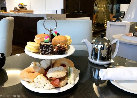 InterContinental Wellington Club Lounge afternoon tea