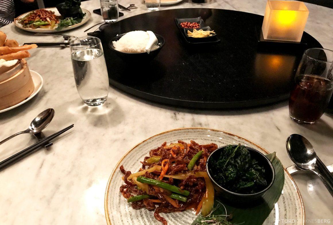 Restaurant Dinner Oslo bord