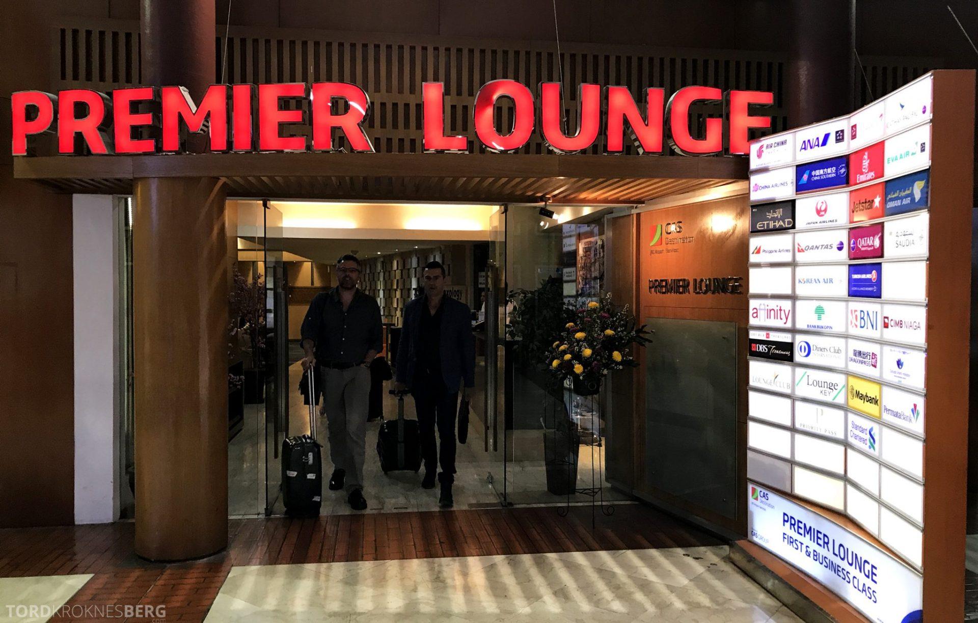 Premier Lounge Jakarta inngangsparti