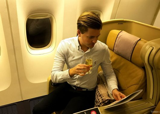 Singapore Airlines Business Class Wellington Canberra Changi Tord Kroknes Berg