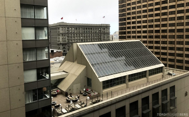 Hilton San Francisco Hotel utsikt
