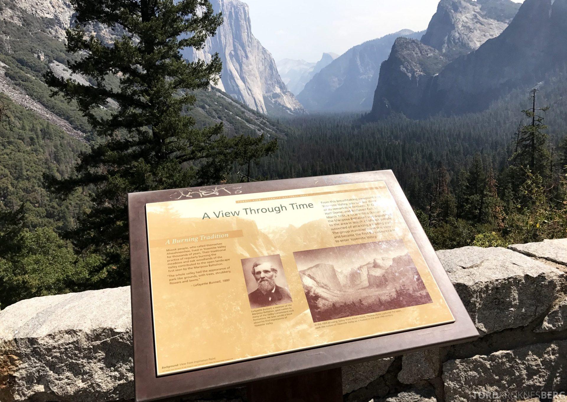 Yosemite Tour informasjon