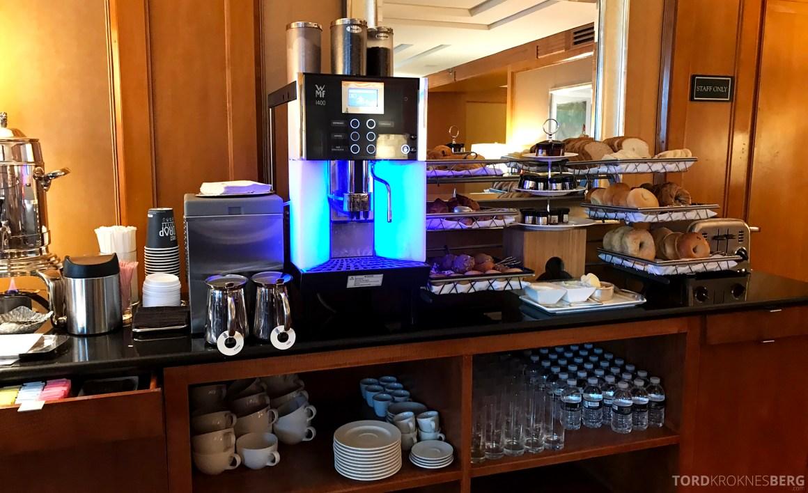 Ritz-Carlton New York Club Lounge kaffemaskin