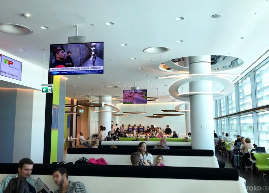 TAP Lounge Lisbon oversikt