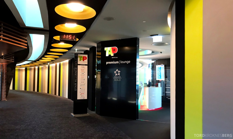 TAP Lounge Lisbon inngang
