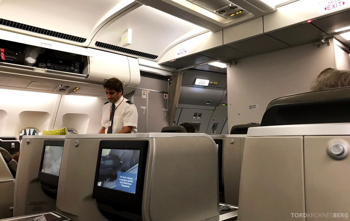 TAP Portugal Business Class New York Lisbon velkomstservice