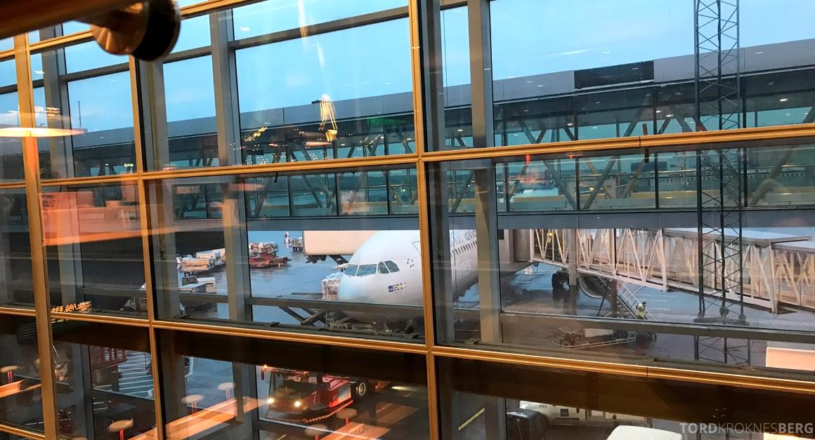 SAS Business Class Stockholm Chicago flyet