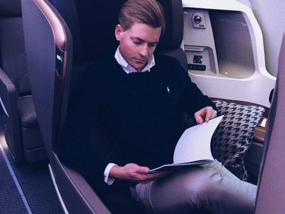 Singapore Airlines Business Class Amsterdam Singapore Tord Kroknes Berg