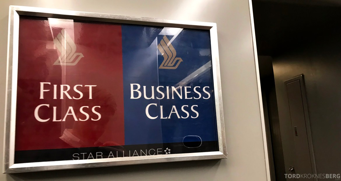 Singapore Airlines Business Class Brisbane inngang fly
