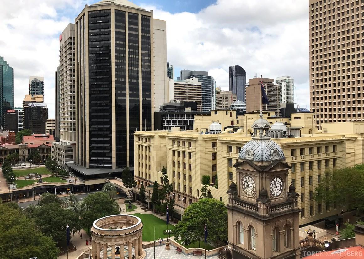 Sofitel Hotel Brisbane utsikt dag