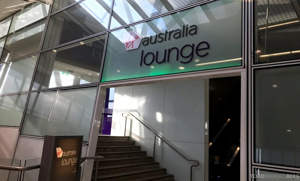 Virgin Australia Lounge Sydney inngang