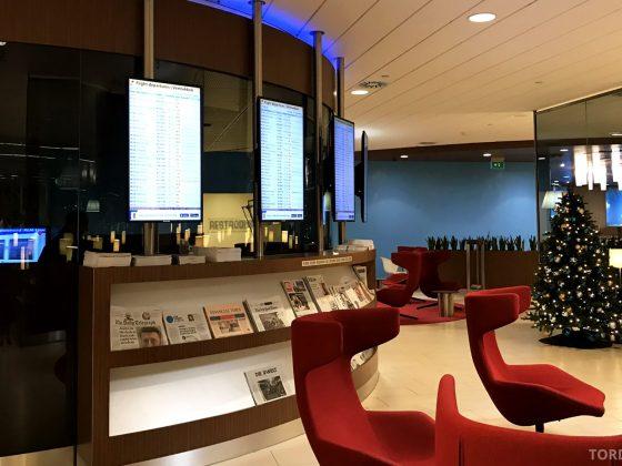 KLM Crown Lounge Schiphol Amsterdam avslapning