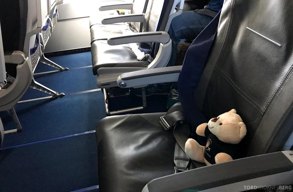 Lufthansa Business Class Rome Frankfurt Oslo reisefølget