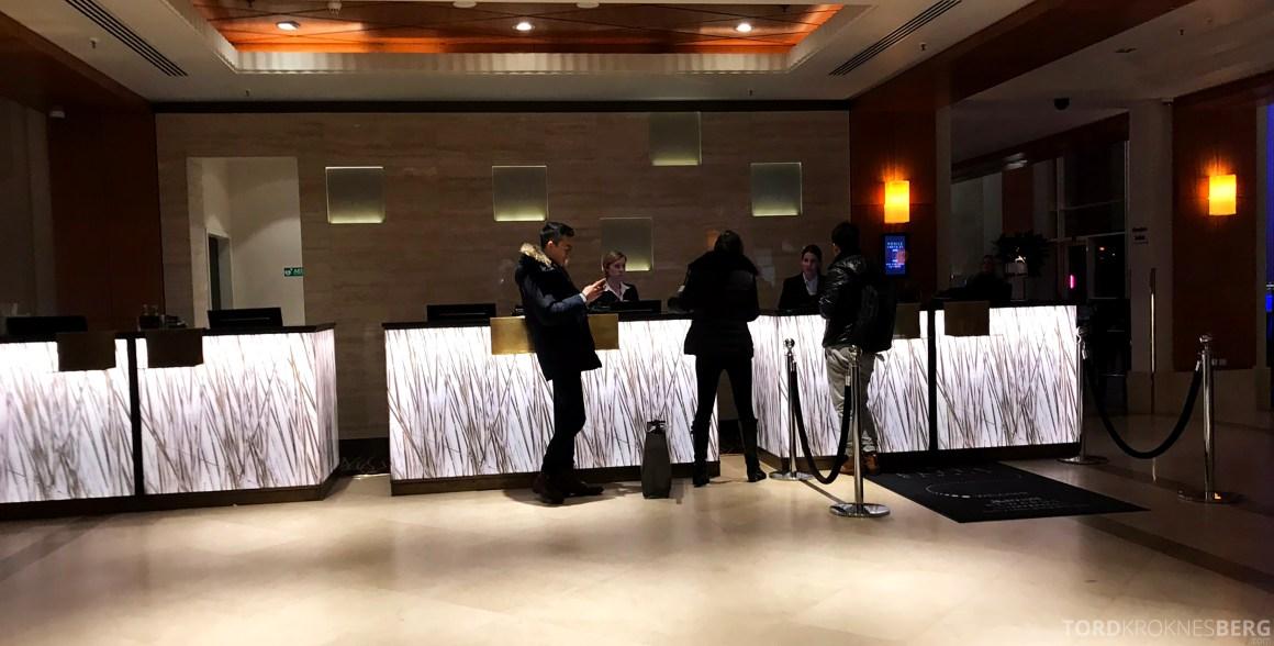 Marriott Copenhagen Hotel resepsjon