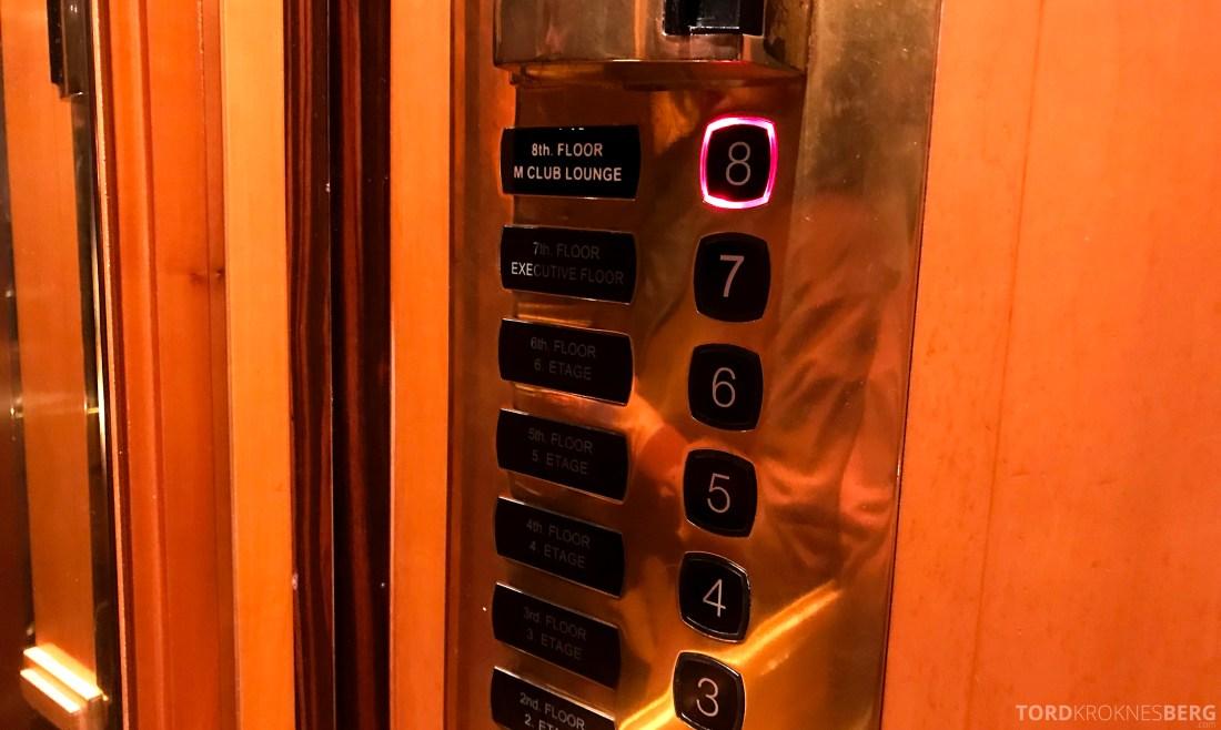 Marriott Vienna Hotel heis
