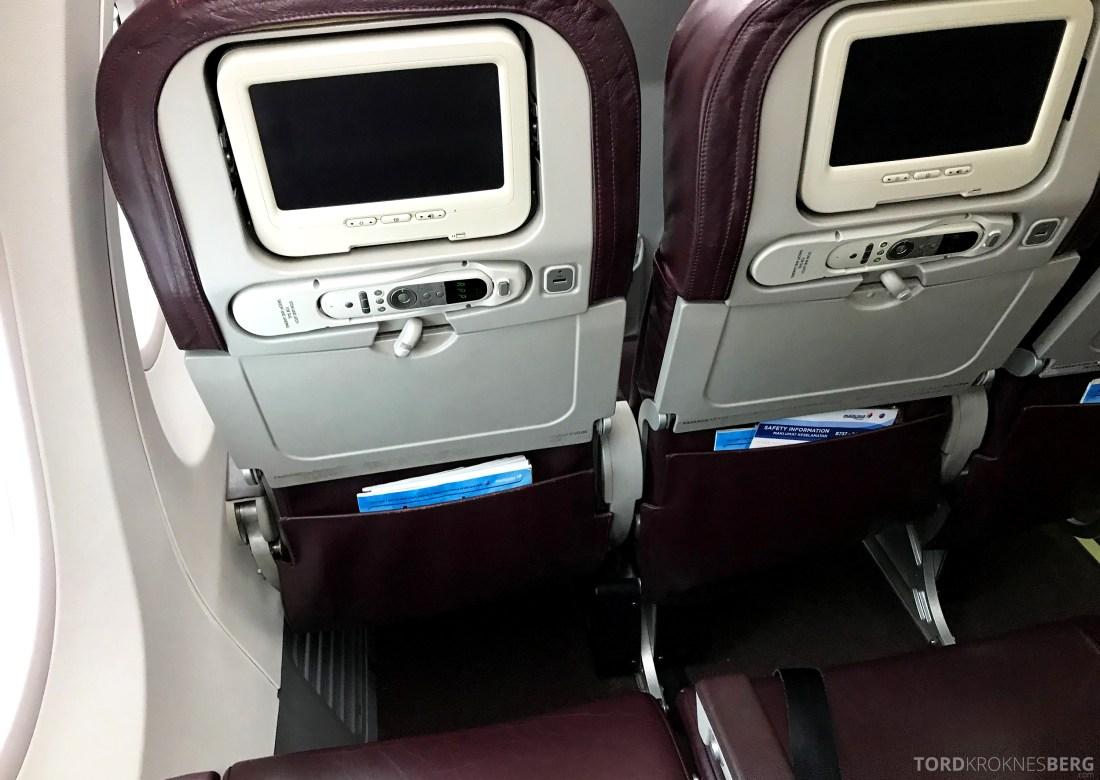 Malaysia Airlines Economy Class Singapore Kuala Lumpur sete