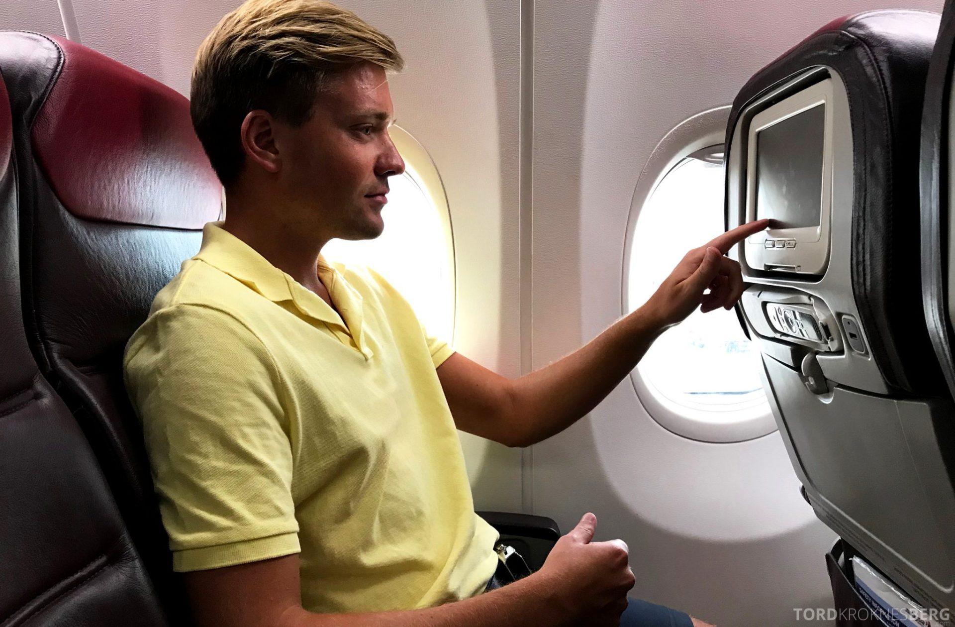 Malaysia Airlines Economy Class Singapore Kuala Lumpur Tord Kroknes Berg