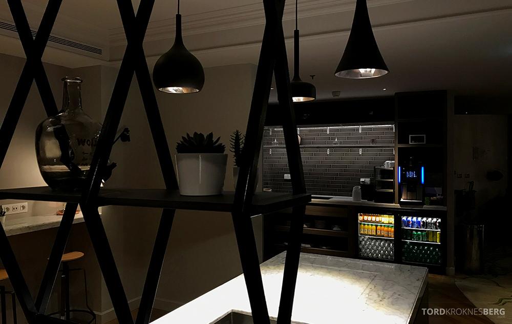 Renaissance La Defense Hotel Paris Club Lounge brus