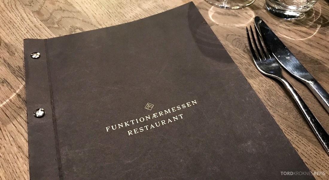 Funksjonærmessen Restaurant Svalbard meny forside