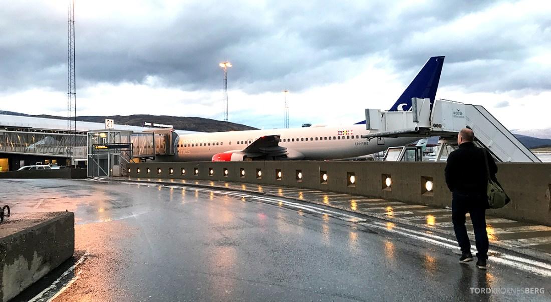 SAS Plus Oslo Svalbard fly