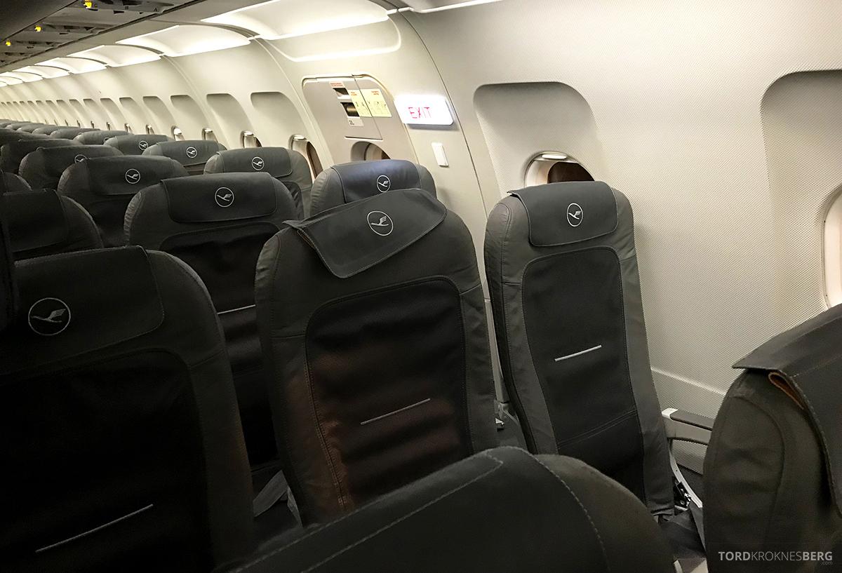 Lufthansa Economy Class Beograd Oslo seter