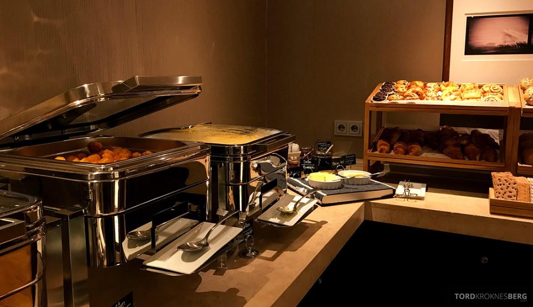 Sheraton Hotel Stockholm Club Lounge frokostbuffet