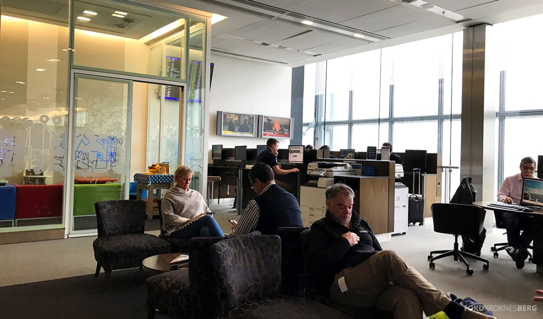British Airways Galleries Club Lounge Heathrow London datakrok og lekerom