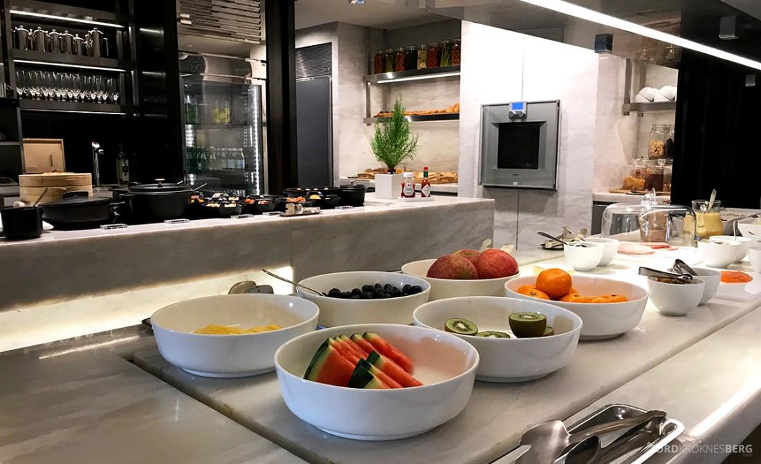 JW Marriott Dongdaemun Square Hotel Seoul Executive Lounge frokostbuffet