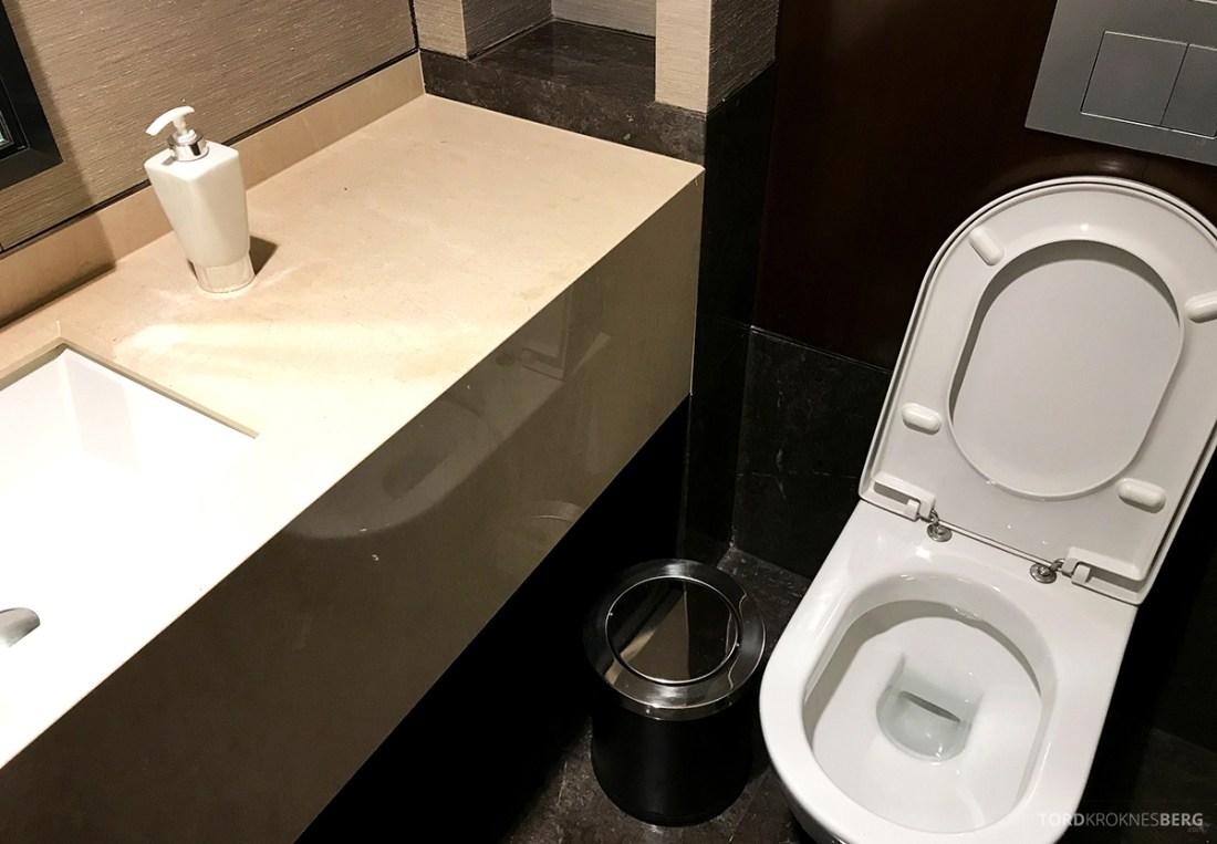JW Marriott Dongdaemun Square Hotel Seoul Executive Lounge toalett