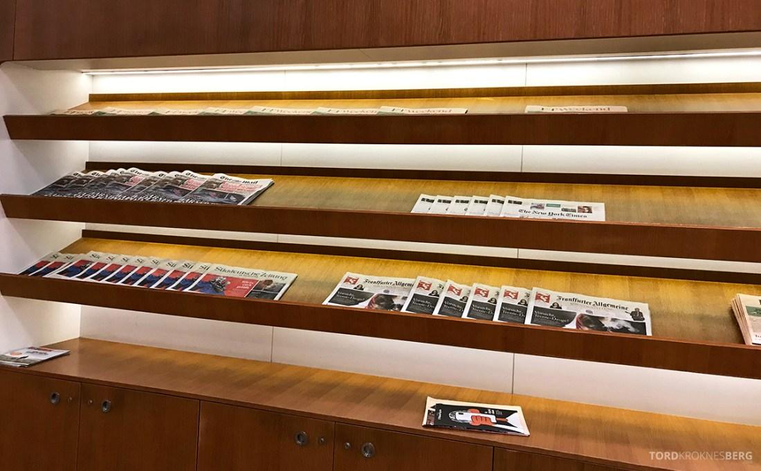 Lufthansa Senator Lounge London Heathrow aviser