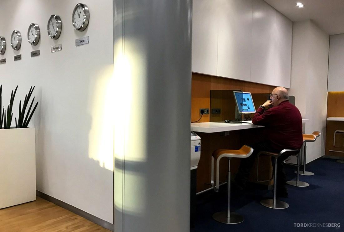 Lufthansa Senator Lounge London Heathrow datakrok