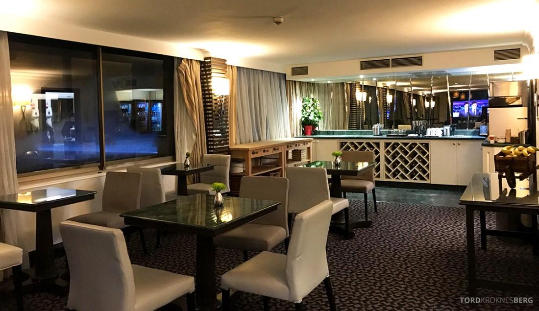 Renaissance Hotel Heathrow London Executive Lounge kveld