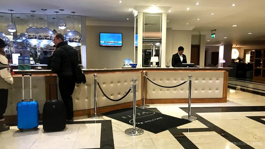 Renaissance Hotel Heathrow London resepsjon
