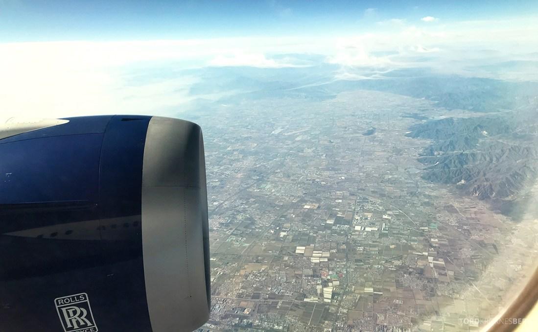British Airways Club World Seoul London utsikt