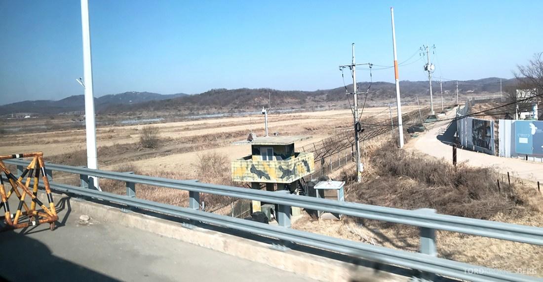 DMZ Tour Seoul North Korea grensen