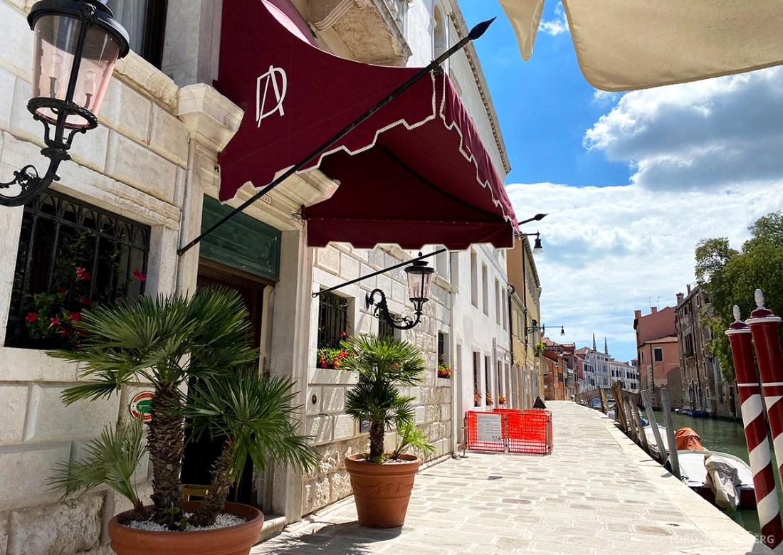 Grand Hotel Dei Dogi Venezia hovedinngang