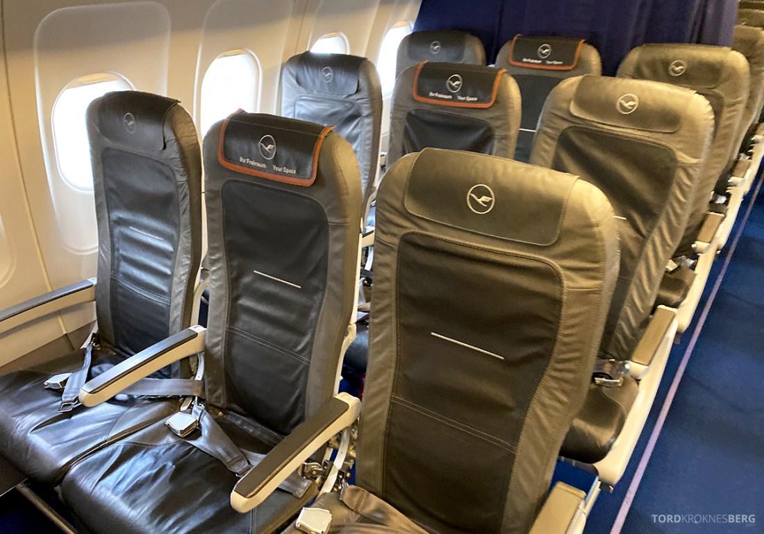 Lufthansa Economy Business Class Covid19 kabin