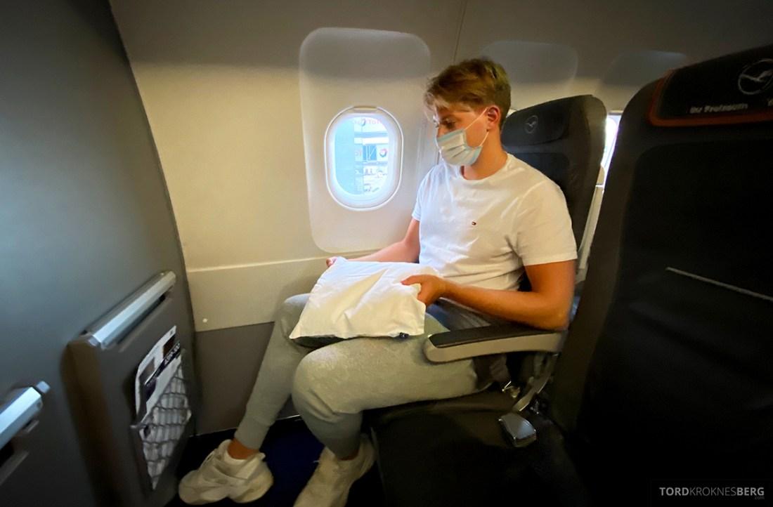 Lufthansa Economy Business Class Covid19 pute