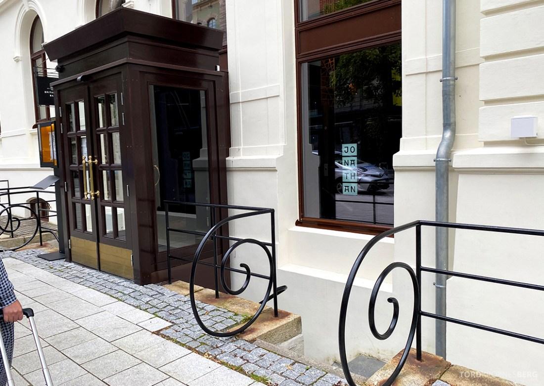 Jonathan Grill Restaurant Trondheim inngang