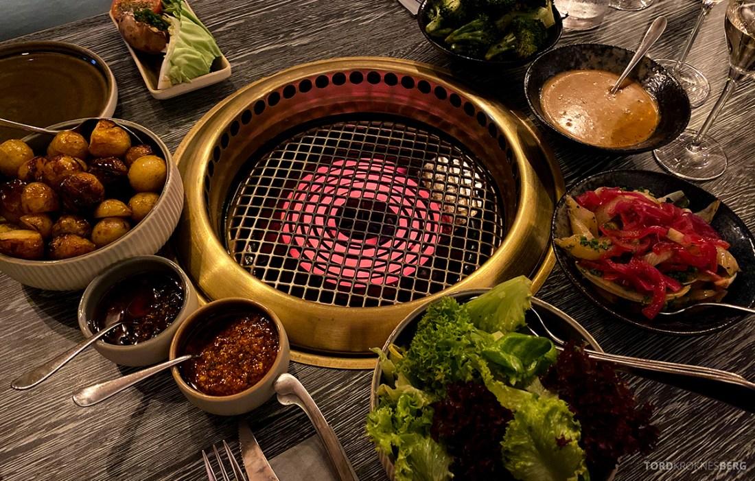 Jonathan Grill Restaurant Trondheim varm grill