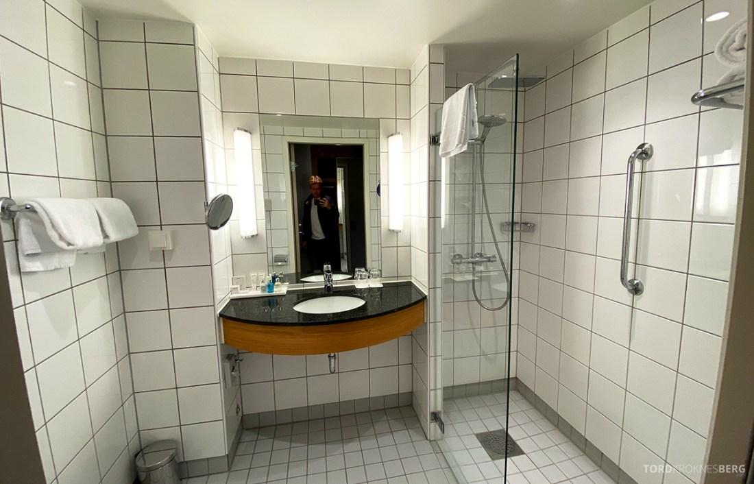 Radisson Blu Tromsø Hotel business class-rom bad