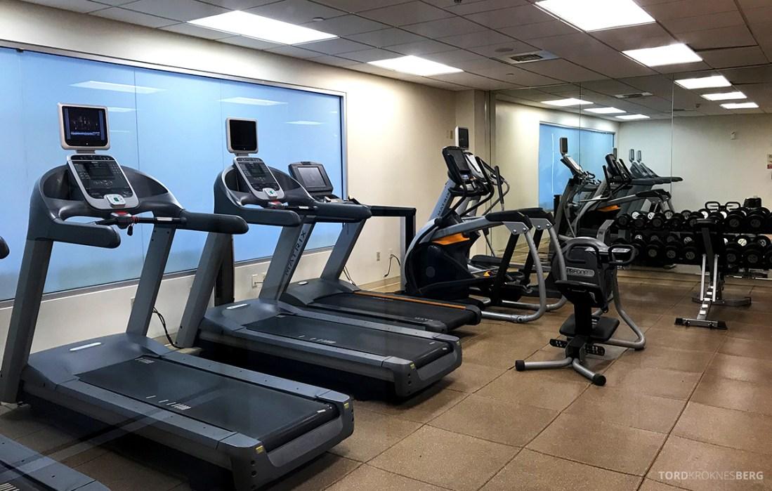Renaissance Newark Airport Hotel fitness center
