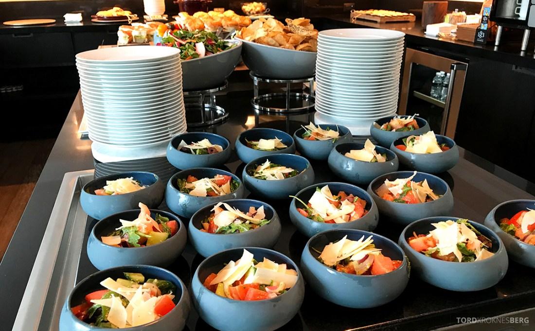 Ritz-Carlton Hotel New York Central Park Club Lounge småretter lunch