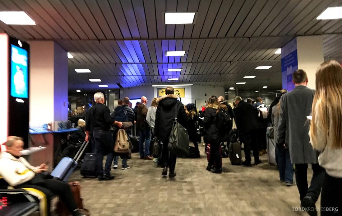 SAS Plus New York Oslo direkte boarding