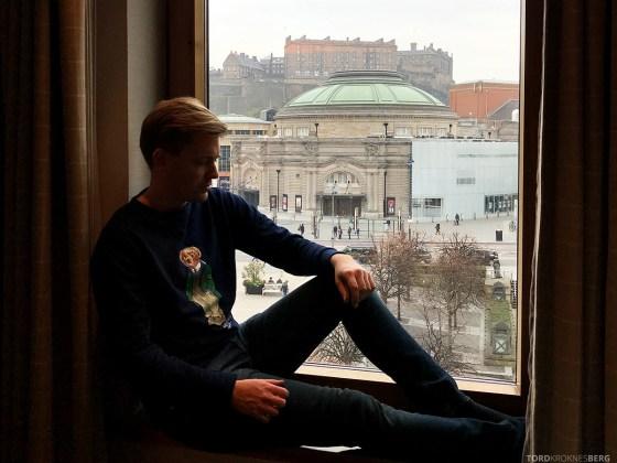 Sheraton Grand Hotel & Spa Edinburgh Tord Kroknes Berg utsikt