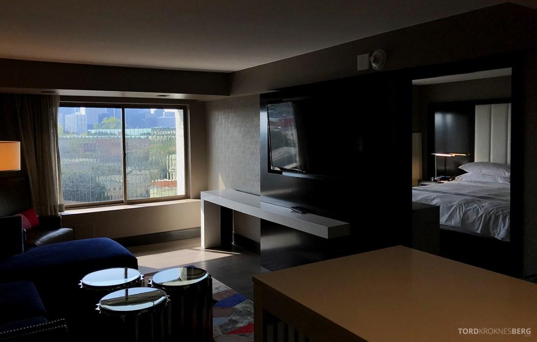 Beverly Hills Marriott Hotel oversikt suite