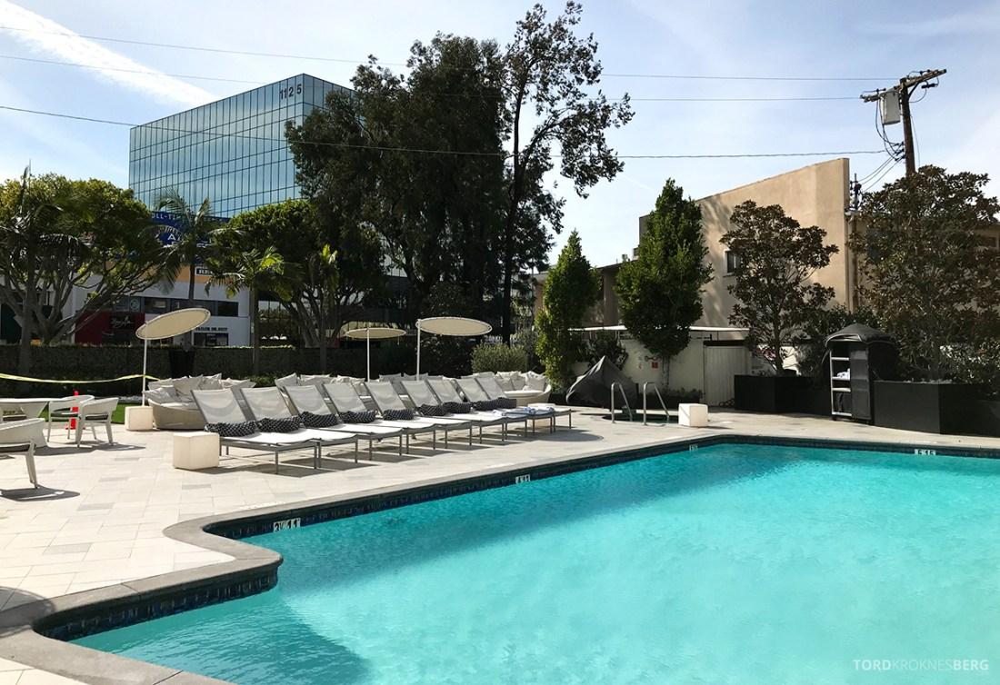 Beverly Hills Marriott Hotel basseng